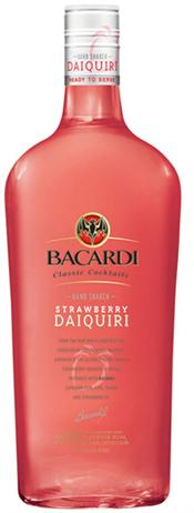 Bacardi Breezer Diaquiri Caribbean Strawberry Rum